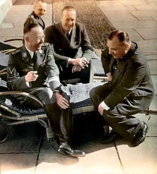 Heinrich Himmler, Walther Hewel, Martin Bormann sharing a joke on the Berghof terrace.jpg
