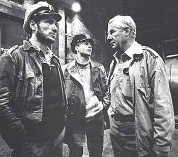 Heinrich Lehmann-Willenbrock on the set with Jürgen Prochnow.jpg