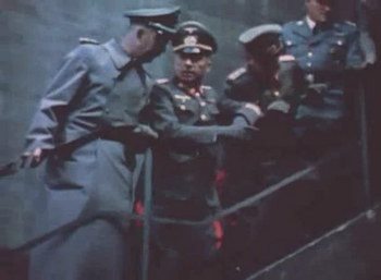 Himmler and Generalmajor Walter Dornberger at the V1 launching place.jpg