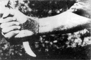 Jasenovac Serb-cutter - Ustasa's invention for slaughtering Serbs.jpg