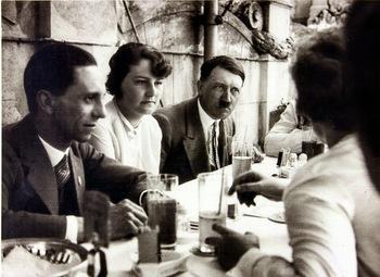 Joseph Goebbels Geli Raubal adolf hitler.jpg