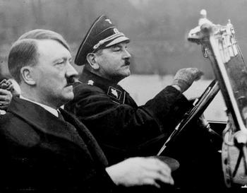 Julius Schreck has driven more than a hundred thousand kilometers with Adolf Hitler.jpg