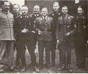Kurt Daluege,Heinrich Himmler,Erhard Milch,Friedrich-Wilhelm Kruger,von Schutz,Karl Wolf Bonin,Heydrich.jpg