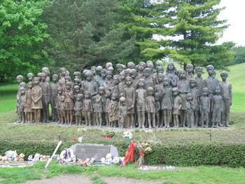 Lidice Children's Monument.jpg