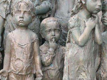 Lidice Children's Monument3.JPG
