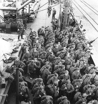 Men of theFinnish Waffen-SS have returned home.jpg