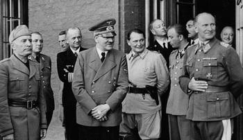Mussolini, Bormann, Donitz, Hitler, Goring, Fegelein,Loerzer.jpg