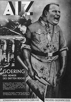 Needless to say he had to leave Germany not long after this appeared in the communist magazine AIZ.jpg