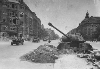 Panther tank half buried in defensive position.jpg