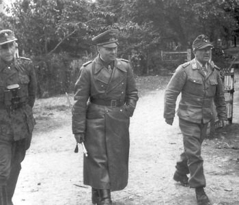 Paul Hausser, Rommel Eugen Meindl  St. Lo 1944.jpg