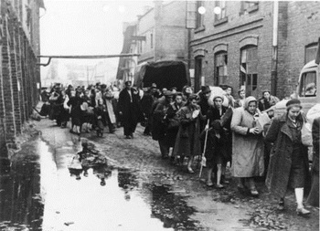 Polish civilians captured by the Germans after the defeat of the Warsaw Uprising, September 1944..jpg