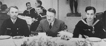 Prien at lunch with Hitler.jpg
