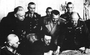Ribbentrop, Goering, Hitler, Keitel, Jodl.jpg