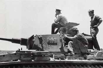 Rommel atop a Panzer III.jpg
