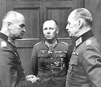 Rommel with Johannes Blaskowitz and von Rundstedt.jpg
