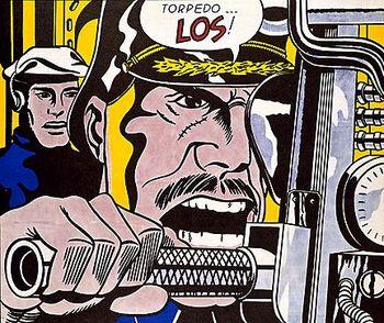 Roy Lichtenstein Torpedo los (1963).jpg