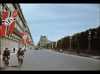 Rue de Rivoli, Paris sometime between 1940-44.jpg