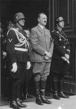 Sepp Dietrich, Hitler, Heinrich Himmler.jpg