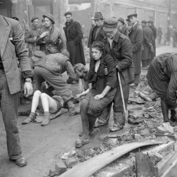 The_British_Army_in_North-west_Europe_Ostarbeiterinnen in Osnabrück, die kurz vor ihrer geplanten Ermordung gerettet wurden, 7. April 1945.jpg