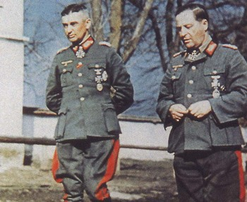 Walter Model with General der Panzertruppe Hermann Breith.jpg