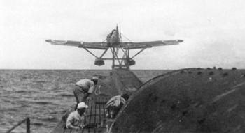 Yokosuka E14Y-11 Glen launches from a submarine.jpg
