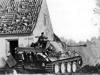 east-prussia-A Panther from the 31st Panzer Regiment of the 5th Panzer Division.jpg