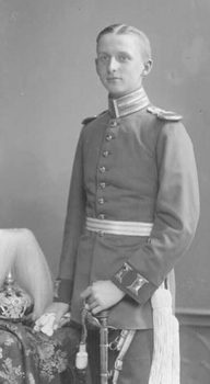manstein On promotion to Lieutenant, 27 January 1907.jpg
