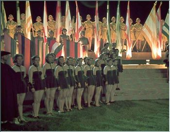 nazi-germany-second-The play  Night of the Amazons  in progress at Nymphenburg Castle park, Munich. 1939.jpg