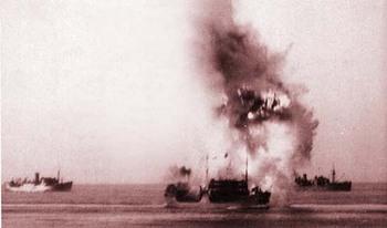 ohio is hit by a torpedo.jpg
