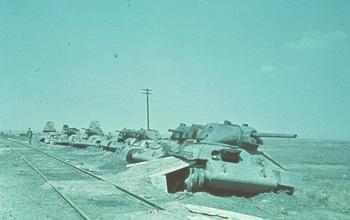 stalingrad_Destroyed Soviet T-34s.jpg