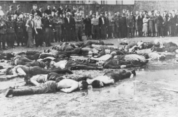 where pro-German Lithuanian nationalists killed more than 50 Jewish men,1941.jpg